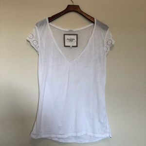 Abercrombie & Fitch Short Sleeve Tee - White (S)